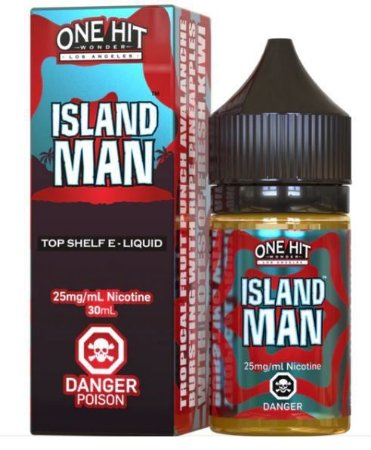 LIQUIDO ISLAND MAN - NICSALT - ONE HIT WONDER E-LIQUID