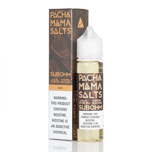 LÍQUIDO SORBET - SALTS SUBOHM - PACHAMAMA