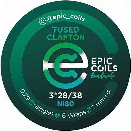 RESISTÊNCIA EPIC COILS FUSED CLAPTON N80