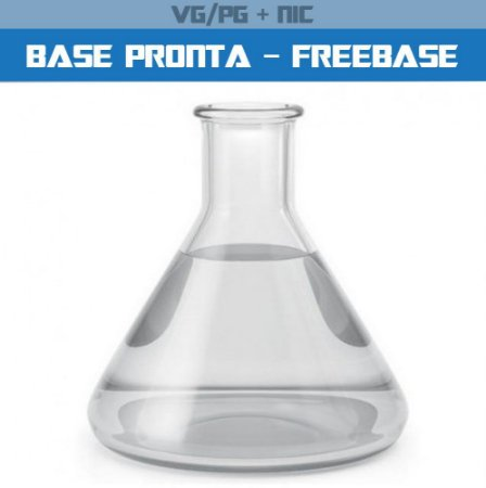 BASE PRONTA 70VG / 30PG ( FREE BASE ) C/ NICOTINA 500ML