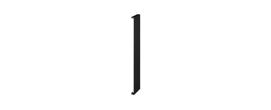 Arandela Reflex de Luz Indireta 72cm Bivolt  IP65 20W 1350lm 2700K Alumínio 110° Cor Preto Stella STH9741PTO/27