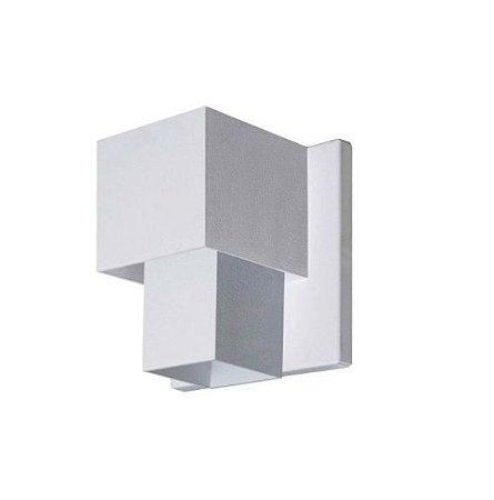 Arandela Efeitos Alumínio 11,5x12x09cm 1xG9 LED Cápsula Bivolt Itamonte Nac 253/1