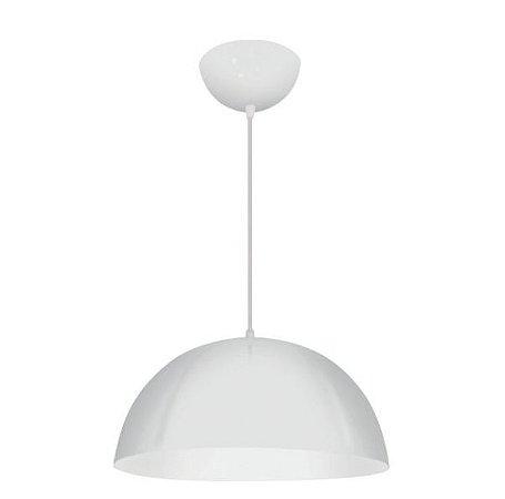Pendente Aluminium 1/2 Esfera Alumínio ø40x20cm 1xE27 LED Bulbo A60 Bivolt Itamonte Nac 148/M
