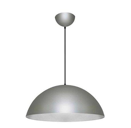 Pendente 1/2 Esfera Alumínio ø55x27,5cm 1xE27 LED Bulbo A60 Bivolt Itamonte Nac 439/55