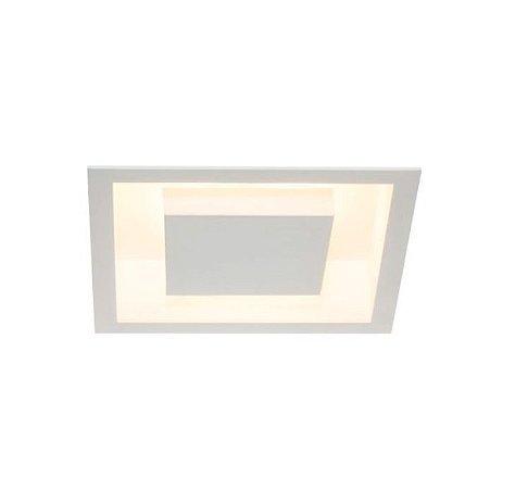Luminária Embutir Eclipse Alumínio 30x30x7,5cm 4xG9 LED Cápsula Bivolt Itamonte Nac 2041/30G9