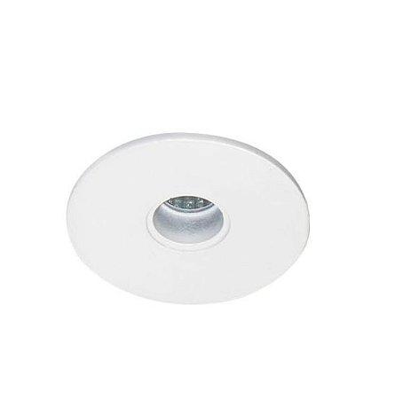Spot Embutir Redondo Alumínio ø06x6,5cm 1xGU10 LED Mini Dicróica MR11 Bivolt Itamonte Nac 11001