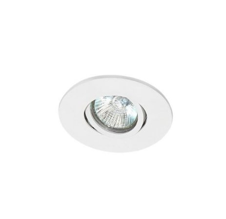 Spot Embutir Redondo Alumínio ø10,5x6,5cm 1xGU10 LED Dicróica MR16 Bivolt Itamonte Nac 11005