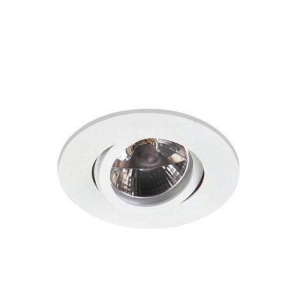 Spot Embutir Redondo Alumínio ø12x08cm 1xGU10 LED AR70 Bivolt Itamonte Nac 11009