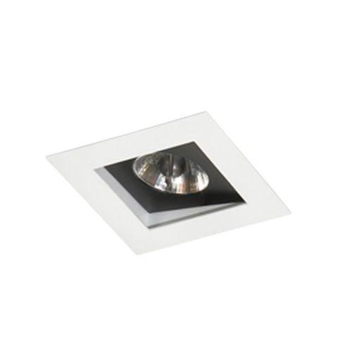 Spot Embutir Simples Alumínio 13x13x08cm 1xGU10 LED AR70 Bivolt Itamonte Nac 12004/1