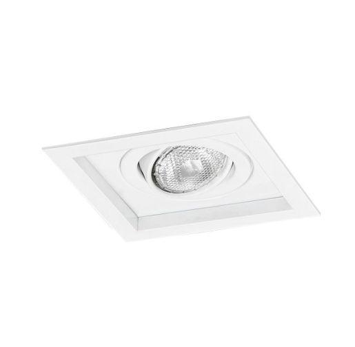 Spot Módulo Embutir Simples Alumínio 17x17x11,1cm 1xE27 LED Par20 Bivolt Itamonte Nac 1012/1