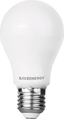 Lâmpada Bulbo IP54 E27 9,5W 60W 6500K 220° Bivolt 810LM Saveenergy SE-215.509