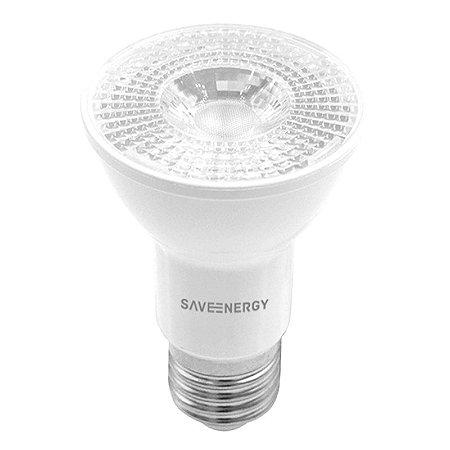 Lâmpada PAR20 Crystal Dimerizável E27 8W | 50W 2700K 36º Bivolt 525LM | 1150CD Saveenergy SE-110.1441
