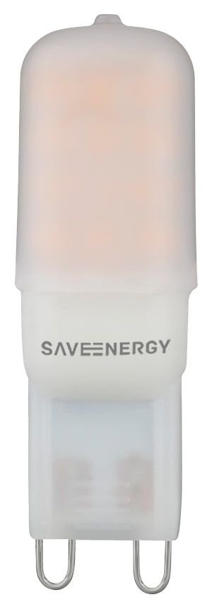 Lâmpada G9 2W | 25W 4000K 320° 220V 180LM Saveenergy SE-265.1451