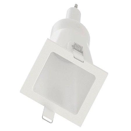 Embutido Face Plana Quadrado A60 Branco Saveenergy SE-330.1071