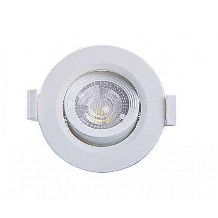 Spot Embutir Redondo Alltop LED MR11 3W 6500K 75x75x45mm Taschibra 7897079083637