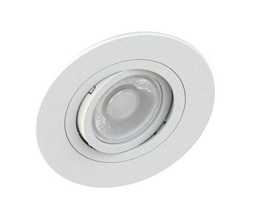 Embutido MR16 Redondo Face Plana Branco Sistema Click Saveenergy SE-330.1033