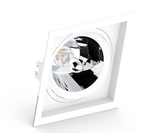 Embutido Recuado Quadrado AR111 Branco Saveenergy SE-330.1064