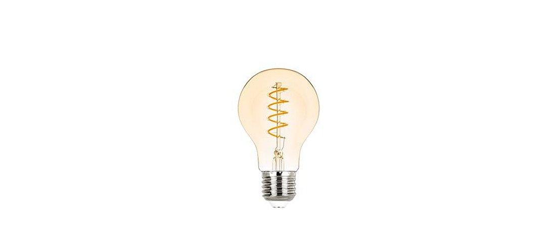 Lâmpada Bulbo Filamento Vintage Espiral Bivolt 2,5W 200LM 2400K E27 300° Stella STH8240/24
