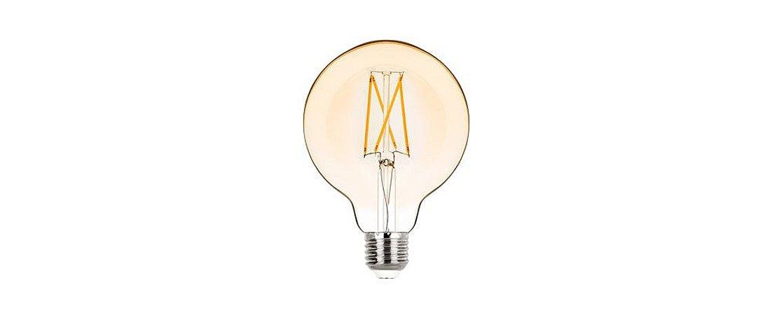 Lâmpada G95 Balloon Filamento Vintage Bivolt 2W 200LM 2400K E27 360º  Stella STH6336/24
