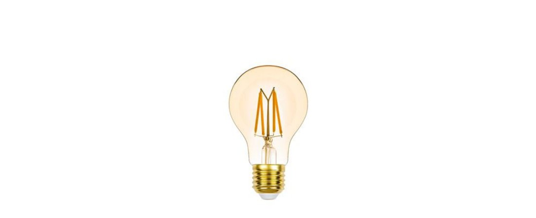 Lâmpada Bulbo Filamento Vintage Dimerizável 127V 4,5W 350LM 2400K E27 300º Stella STH8261/24