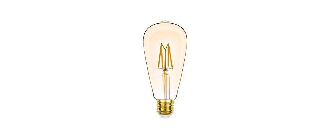 Lâmpada ST64 Filamento Vintage Dimerizável 127V 4,5W 350LM 2400K E27 300º Stella STH8271/24