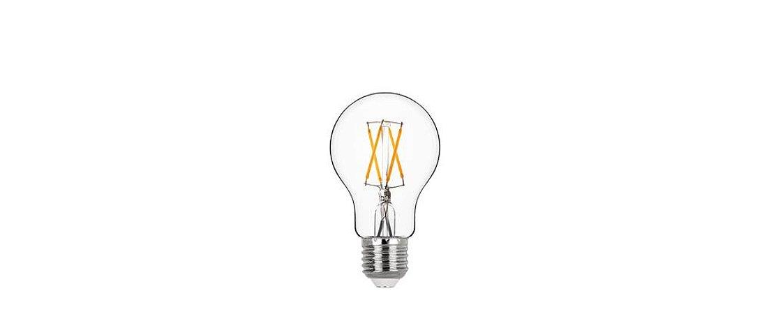 Lâmpada Bulbo Filamento Vidro Translúcido Bivolt 4W 400LM 2700K E27 360º Stella STH7210/27