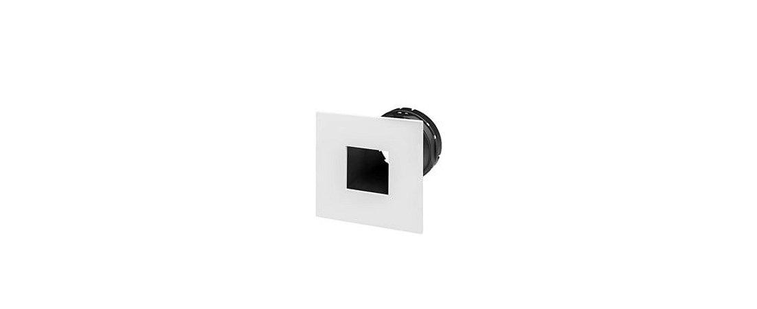 Embutido Foco Fechado Narrow MR16 Alumínio 15W Branco e Preto Stella STH9915BR/PTO