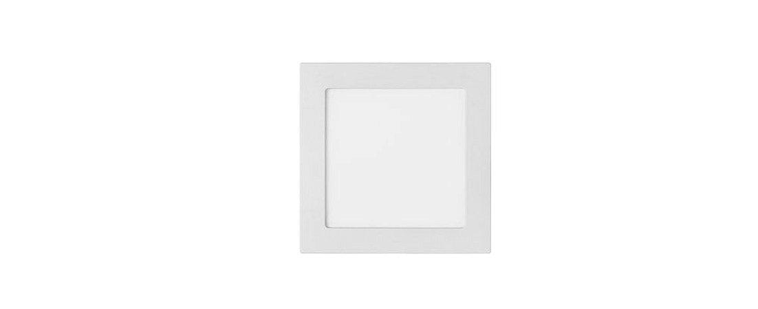Painel Embutir Quadrado 201,5x201,5mm 18W 4000K Bivolt 1230LM 120° Stella STH9953Q/40