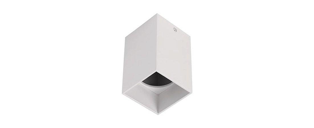 Plafon Quadrat MR16 60X60mm Branco Stella STH8992BR