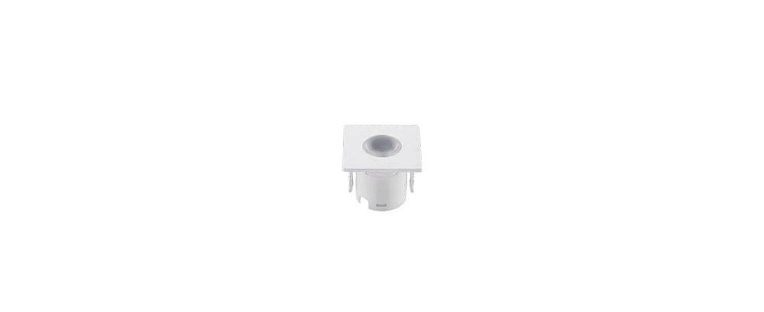 Mini Embutido Branco para Móveis Bivolt 1,2W 80LM 3000K 30° Stella STH6900/30