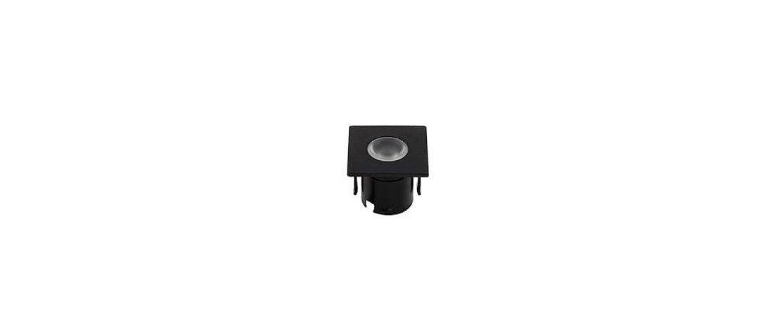 Mini Embutido Preto para Móveis Bivolt 1,2W 80LM 3000K 30° Stella STH6901/30