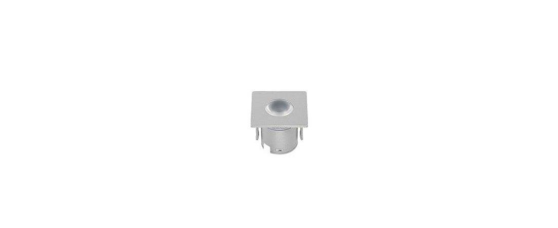 Mini Embutido Prata para Móveis Bivolt 1,2W 80LM 3000K 30° Stella STH6902/30