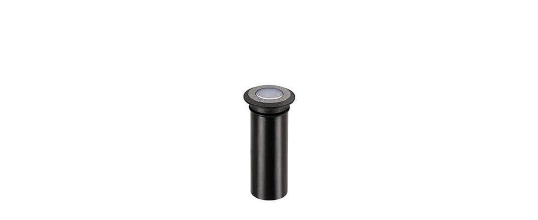 Balizador de Solo Mini Spur Preto Bivolt 0,5W 2LM 2700K IP67 100º Stella STH8703/27