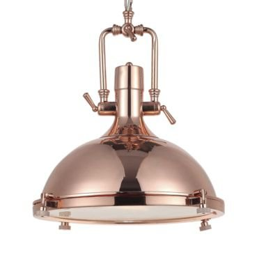 Pendente Kitchen Metal Bronze e Vidro Fosco Mais Luz PE-082/1.45BRO