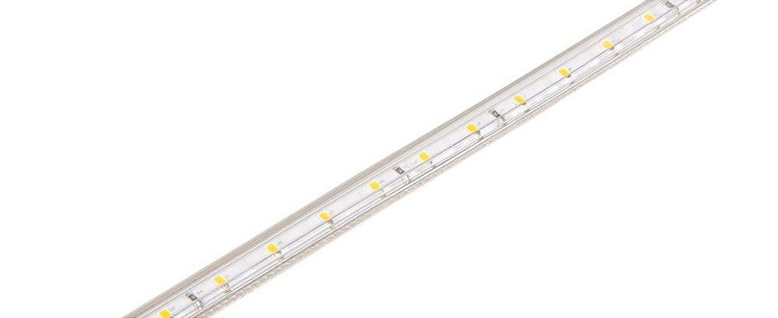 Kit Fita Tensão de Rede Single Line 5W/m 5 Metros 127V IP67 25W 200LM/m 3000K Luz Quente Stella STH7801/30