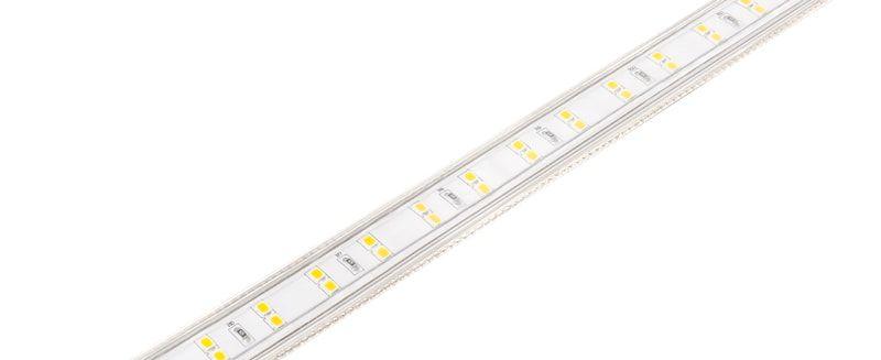 Kit Fita Tensão de Rede Double LINE 10W/m - 5M 220V IP67 50W 550LM/m 5700K Luz Fria Stella STH7812/57