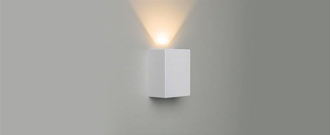 Arandela Effekt Branco - 1 Facho Aberto Bivolt 4W 240LM 3000K IP65 90º Stella STH6734/30
