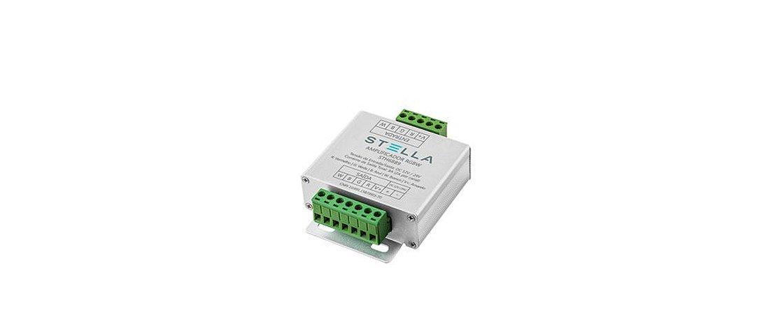 Amplificador para Fitas RGBW 12Vcc/24Vcc Stella STH6889