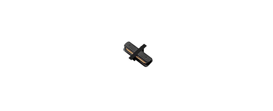 Conexão I para Trilho de Embutir Preto Stella SD1205PTO