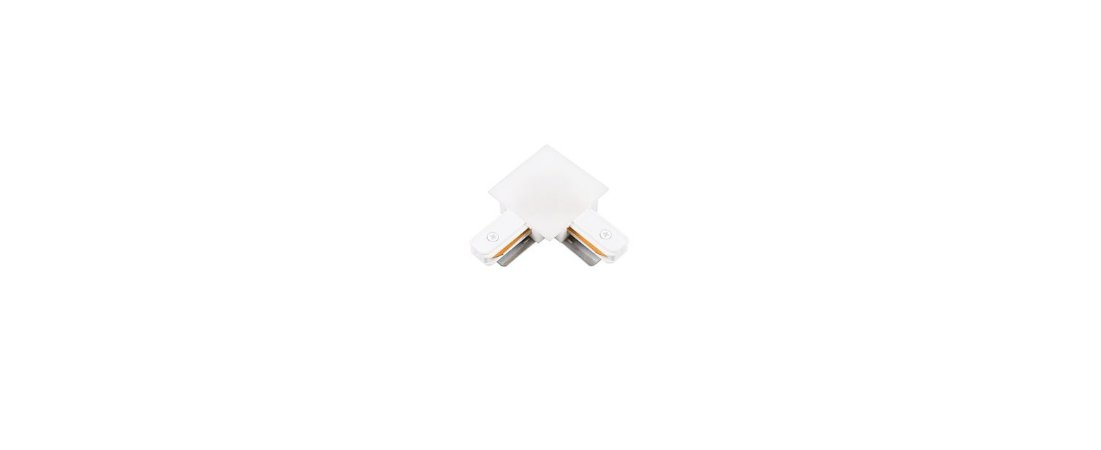 Conexão L para Trilho de Embutir -  Branco Stella SD1206BR