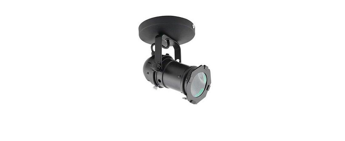 Spot Cênico MR16 GU10 - Preto com Canopla Stella SD1650PTO