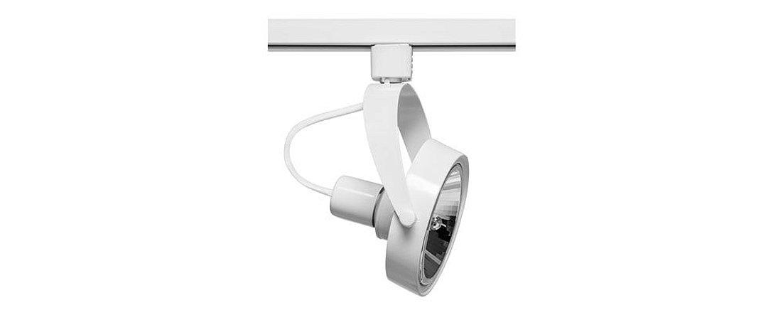 Spot para Trilho em Alumínio 1xAR111 GU10 Máx 50W Branco Stella SD1060BR