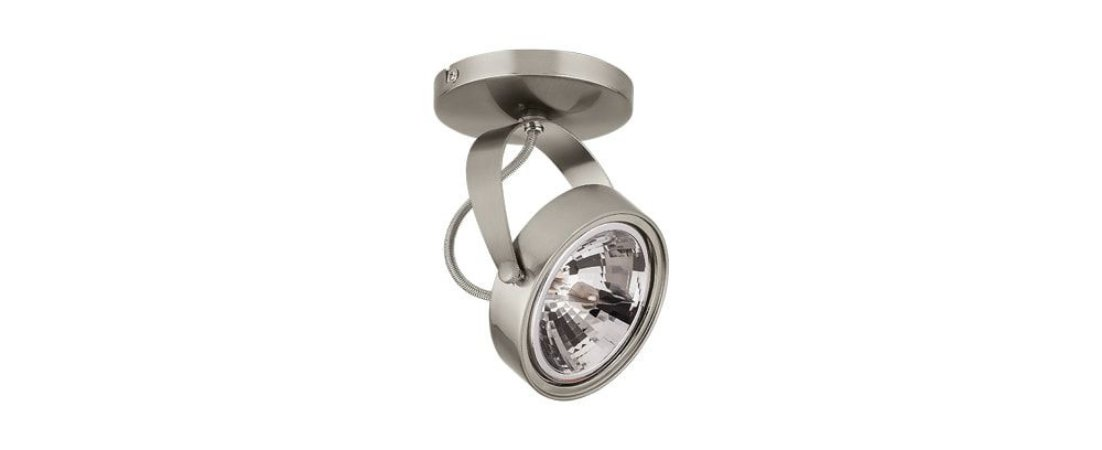 Spot para Trilho em Alumínio 1xAR111 GU10 Máx 50W Satin Silver Stella SD1565ST