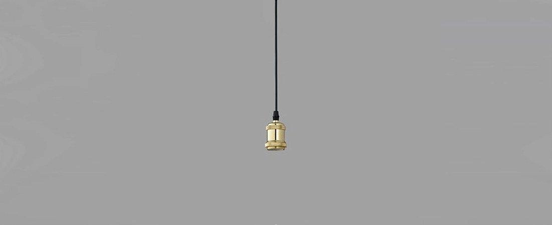 Pendente Soquete Filettato Metal Dourado Stella SD8160