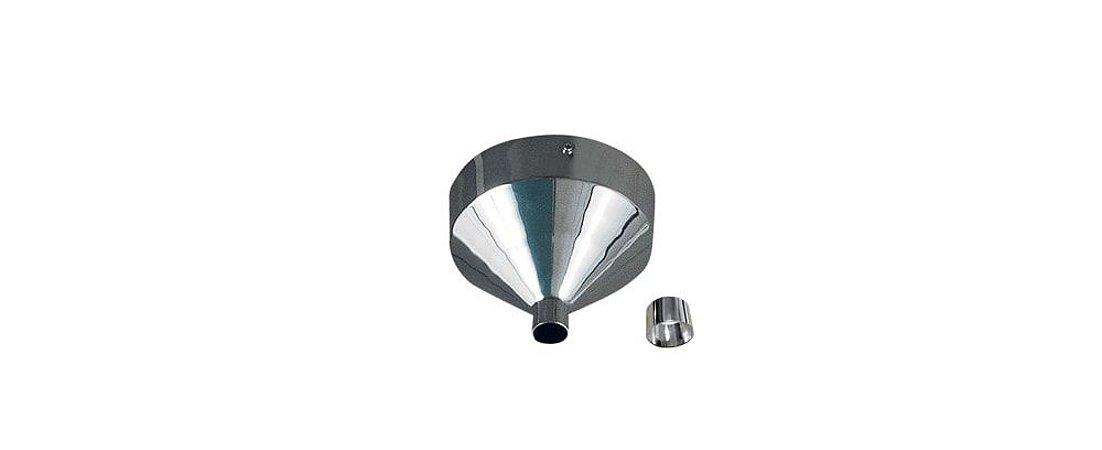 Kit Canopla Redondo para Pendente Composto Metal Cromado Stella SD8599