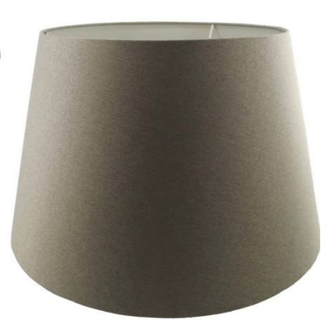 Cúpula de Abajur Linen Tecido 50cm Cor Areia Bella Iluminação AL002S
