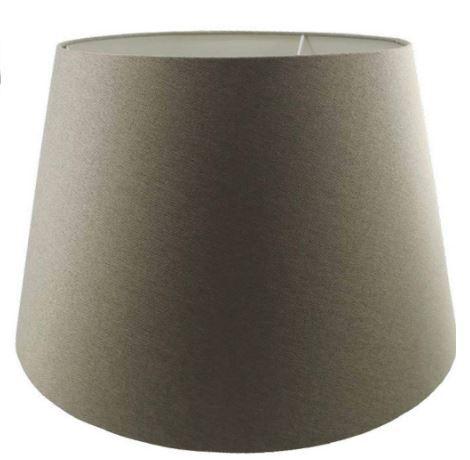 Cúpula de Abajur Linen Tecido 60cm Cor Areia Bella Iluminação AL003S