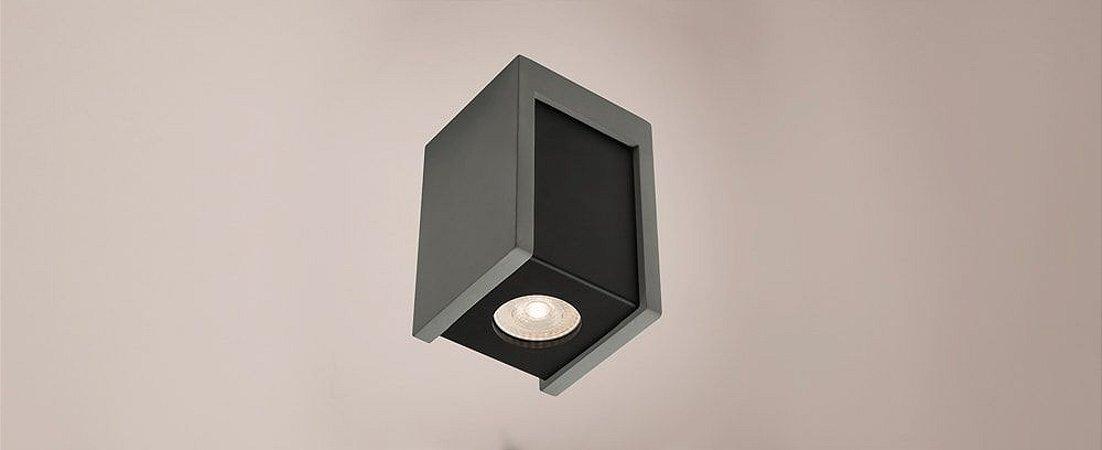 Plafon Namu Concreto 10x14,7cm Stella SD8003