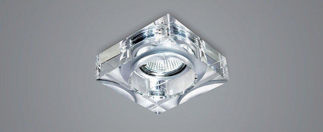 Semiembutido Quadrado Cristal Transparente Stella SD4000Q