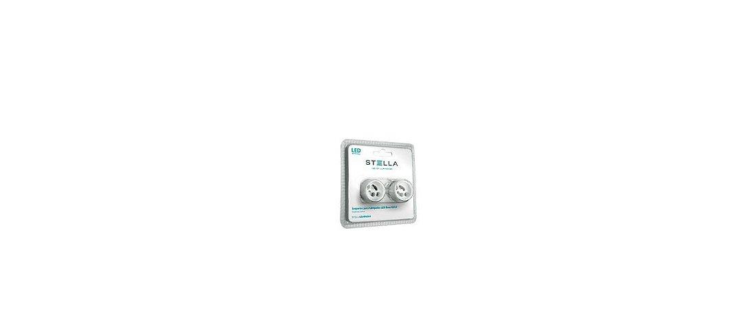 Soquetes Para Lâmpadas LED Base GU10 Máx. 40W Stella STH5599
